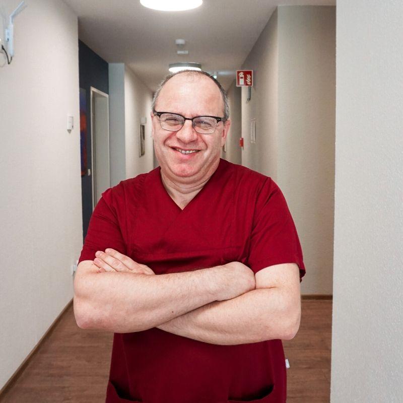 Pflegedienstleiter der WG Mannheim Yuriy Klyur